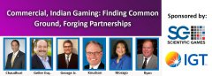 9.30 Webinar - Commercial, Indian Gaming: Finding Common Ground, Forging Partnerships